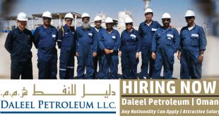 Daleel Petroleum Oman Job Vacancies