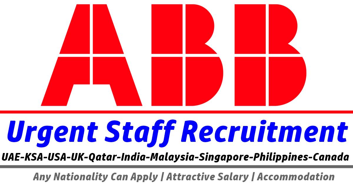 ABB Job Vacancies