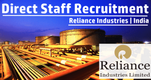 Reliance Industries Job Vacancy