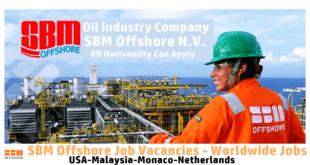 sbm offshore Job vacancies