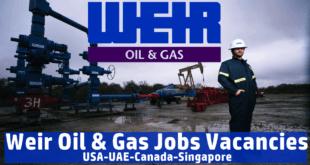 Weir Group Job Vacancies
