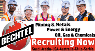 Bechtel Job Vacancies