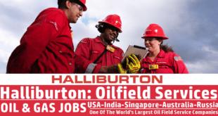 Halliburton Job Vacancy