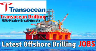 Transocean Deepwater Drilling Job Openings Worldwide