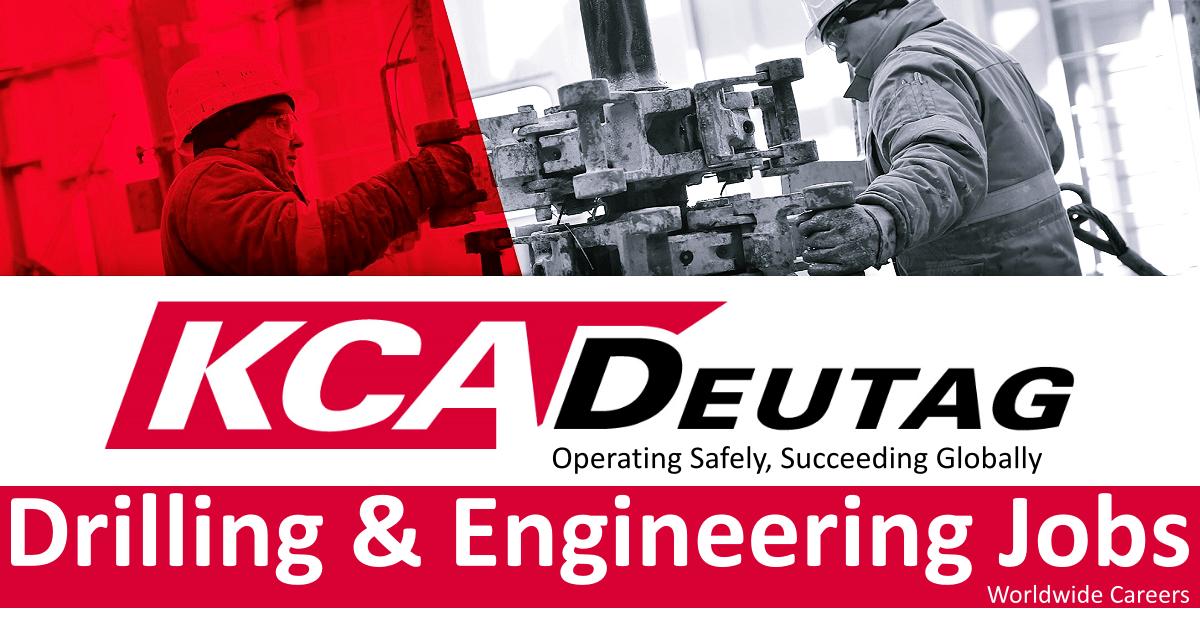 kca deutag drilling jobs