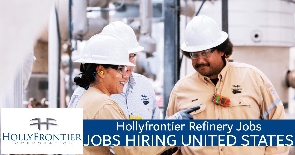 hollyfrontier refinery jobs