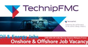 TechnipFMC Job Vacancy