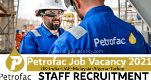 Petrofac Job Vacancy